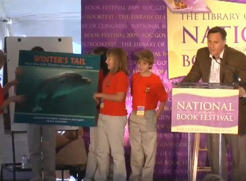 Author Craig Hatkoff speaks at The Library of Congress 2009 National Book Festival Part 2